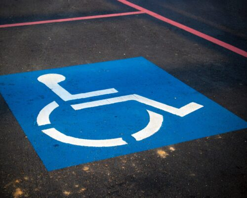 Wheelchair Parking Symbol