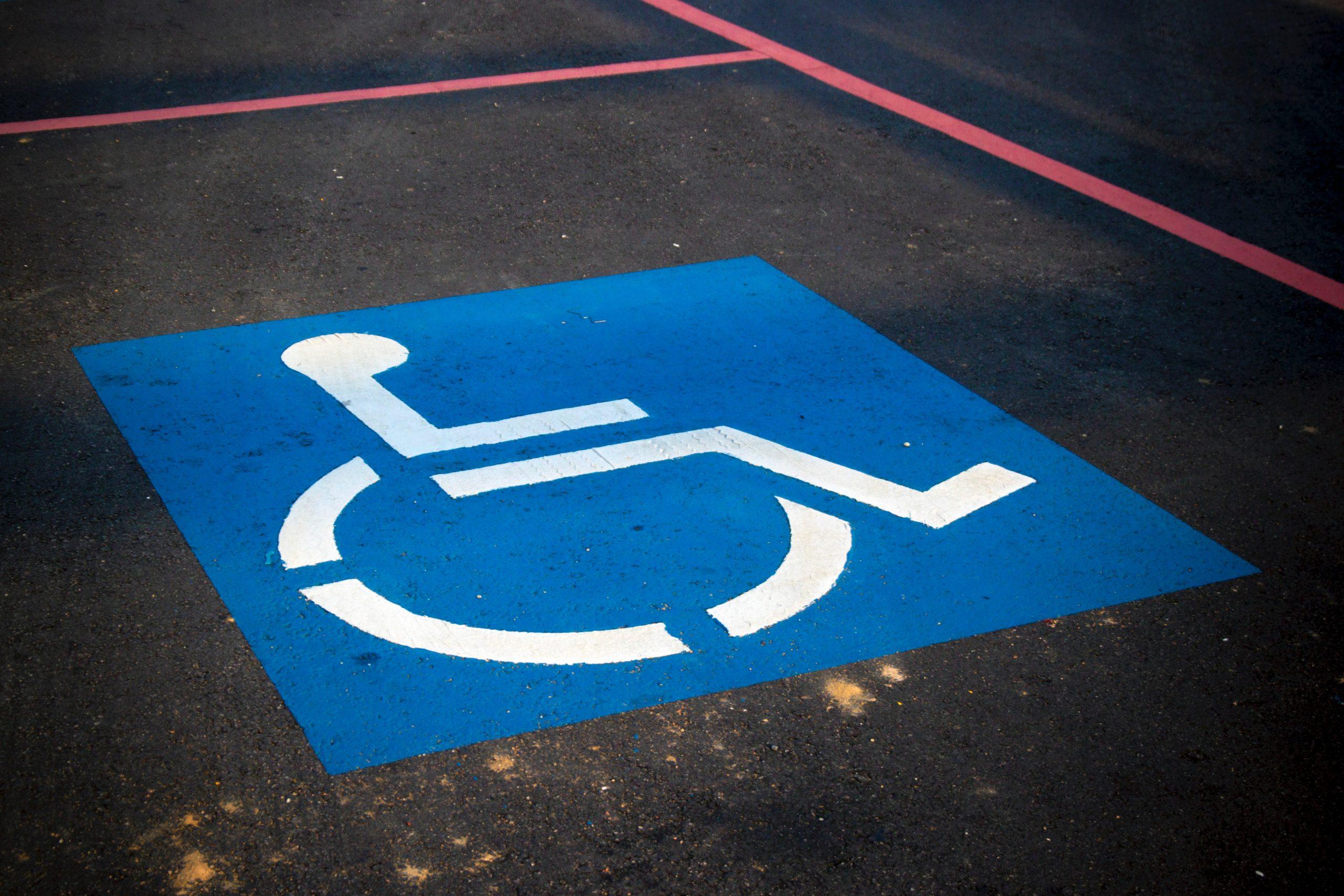 Wheelchair Parking Symbol